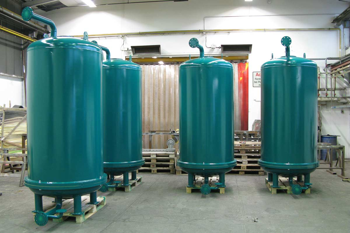 Behälterbau Rührwerksbehälter DN 1100 - inkl. Oberflächenbeschichtung
